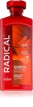 Farmona Radical Damaged Hair shampoing rénovateur pour cheveux abîmés à la kératine