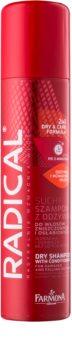 Farmona Radical Hair Loss 2-in-1 Kuivashampoo ja Hoitoaine Vaurioituneille ja Harveneville Hiuksille