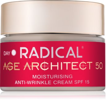 Farmona Radical Age Architect 50+ feuchtigkeitsspendende Creme gegen Falten SPF 15