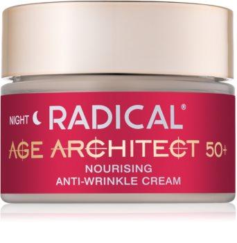 Farmona Radical Age Architect 50+ nährende Antifalten-Creme für die Nacht