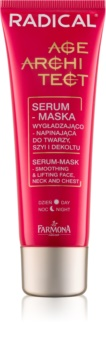 Farmona Radical Age Architect Smoothing and Lifting Serum and Mask 2 in 1