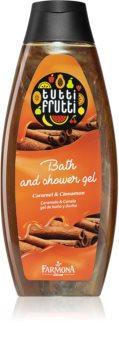Farmona Tutti Frutti Caramel & Cinnamon gel de ducha y baño