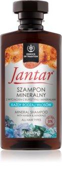 Farmona Jantar Mineraal Shampoo  voor Alle Haartypen