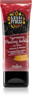 Farmona Tutti Frutti Blackberry & Raspberry Regenerating Scrub for Hands