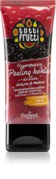 Farmona Tutti Frutti Blackberry & Raspberry regenerierendes Peeling für die Hände