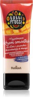 Farmona Tutti Frutti Peach & Mango Feuchtigkeitscreme für Hände und Fingernägel