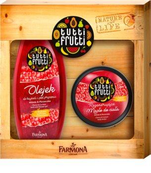 Farmona Tutti Frutti Cherry & Currant dárková sada I. (na tělo) pro ženy