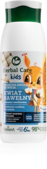 Farmona Herbal Care Kids leite de limpeza cremoso para crianças