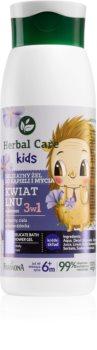 Farmona Herbal Care Kids gel de banho para o rosto, corpo e cabelo 3 em 1