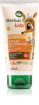 Farmona Herbal Care Kids Feuchtigkeitsspendende Bodymilk mit Tiefenwirkung für Kinder