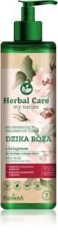 Farmona Herbal Care Wild Rose Körper-Balsam mit regenerierender Wirkung