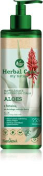 Farmona Herbal Care Aloe leite corporal hidratante com aloe vera
