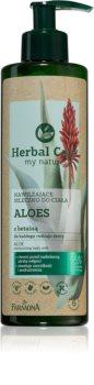 Farmona Herbal Care Aloe увлажняющее молочко для тела с алоэ вера