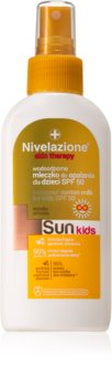 Farmona Nivelazione Sun wasserfeste Bräunungsmilch für Kinder SPF 50