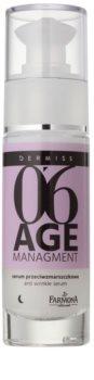 Farmona Dermiss Age Managment sérum antirrugas de noite para rosto e contorno dos olhos