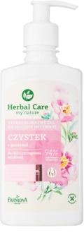 Farmona Herbal Care Cistus Hellävarainen Naisellinen Pesu Herkälle Iholle