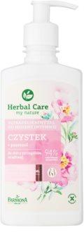 Farmona Herbal Care Cistus нежный гель для интимной гигиены для чувствительной кожи