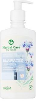 Farmona Herbal Care Cornflower gel calmante para higiene íntima para pele sensível e irritada