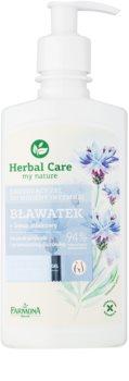 Farmona Herbal Care Cornflower Rauhoittava Intiimipesu Herkälle Ja Ärtyneelle Iholle