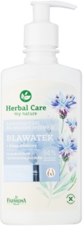 Farmona Herbal Care Cornflower успокояващ гел за интимна хигиена за чувствителна и раздразнена кожа
