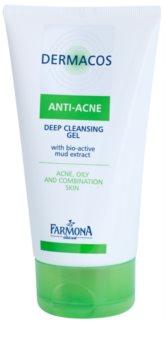 Farmona Dermacos Anti-Acne gel di pulizia profonda