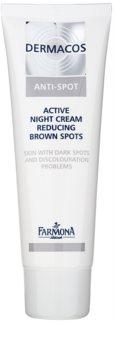 Farmona Dermacos Anti-Spot Crema de noapte activa pentru reducerea petelor pigmentare