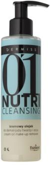Farmona Dermiss Nutri Cleansing óleo desmaquilhante para rosto e olhos