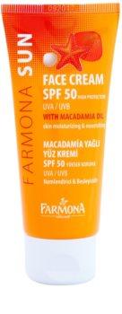 Farmona Sun защитен крем за нормална към суха кожа SPF 50