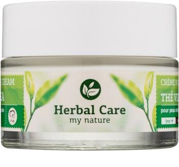 Farmona Herbal Care Green Tea Crema de zi si noapte cu efect de matifiere si uniformizarea pielii pentru ten gras și mixt