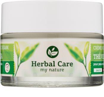 Farmona Herbal Care Green Tea crème jour et nuit normalisante et matifiante pour peaux grasses et mixtes