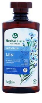 Farmona Herbal Care Flax Seed šampón pre suché a slabé vlasy