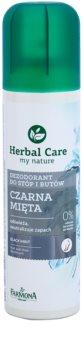 Farmona Herbal Care Black Mint дезодорант в спрей  за крака и обувки