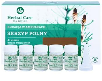Farmona Herbal Care Horsetail intenzívna kúra pre veľmi poškodené vlasy