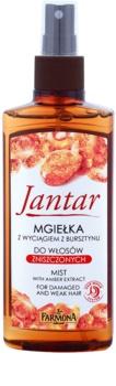 Farmona Jantar spray nebulizzato rigenerante per il trattamento dei capelli rovinati