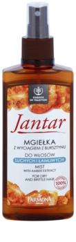 Farmona Jantar brume régénérante pour cheveux secs et fragiles