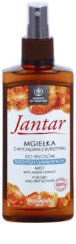 Farmona Jantar spray regenerador para o cabelo seco e frágil