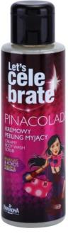 Farmona Let's Celebrate Pinacolada kremowy peeling pod prysznic