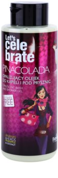 Farmona Let's Celebrate Pinacolada opalizujący olejek do kąpieli i pod prysznic