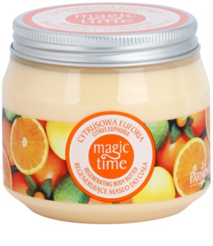 Farmona Magic Time Citrus Euphoria manteca corporal con efecto regenerador