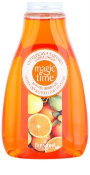 Farmona Magic Time Citrus Euphoria gel de duche e banho com efeito nutritivo
