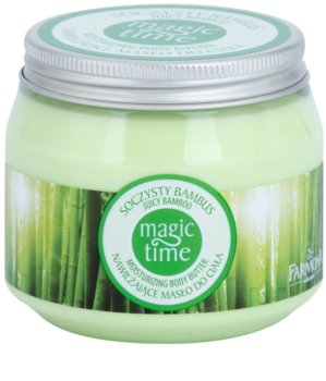 Farmona Magic Time Juicy Bamboo manteiga corporal  com efeito hidratante