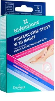 Farmona Nivelazione cuidado de parafina para os pés para pele muito seca