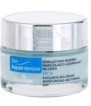 Farmona Skin Aqua Intensive зволожуючий та зміцнюючий денний крем SPF 10