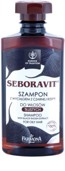 Farmona Seboravit șampon pentru par si scalp gras