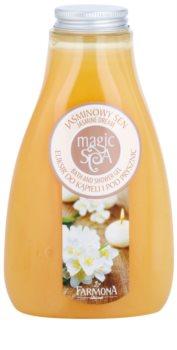 Farmona Magic Spa Jasmine Dream gel de duche e banho com efeito nutritivo