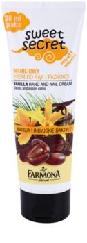 Farmona Sweet Secret Vanilla крем для рук та нігтів