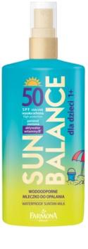 Farmona Sun Balance сонцезахисне молочко для дітей SPF 50