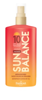Farmona Sun Balance schützendes Trockenöl zum Bräunen LSF 10