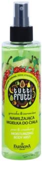 Farmona Tutti Frutti Pear & Cranberry rocío corporal con efecto humectante