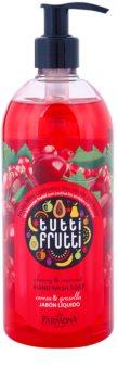 Farmona Tutti Frutti Cherry & Currant savon liquide mains